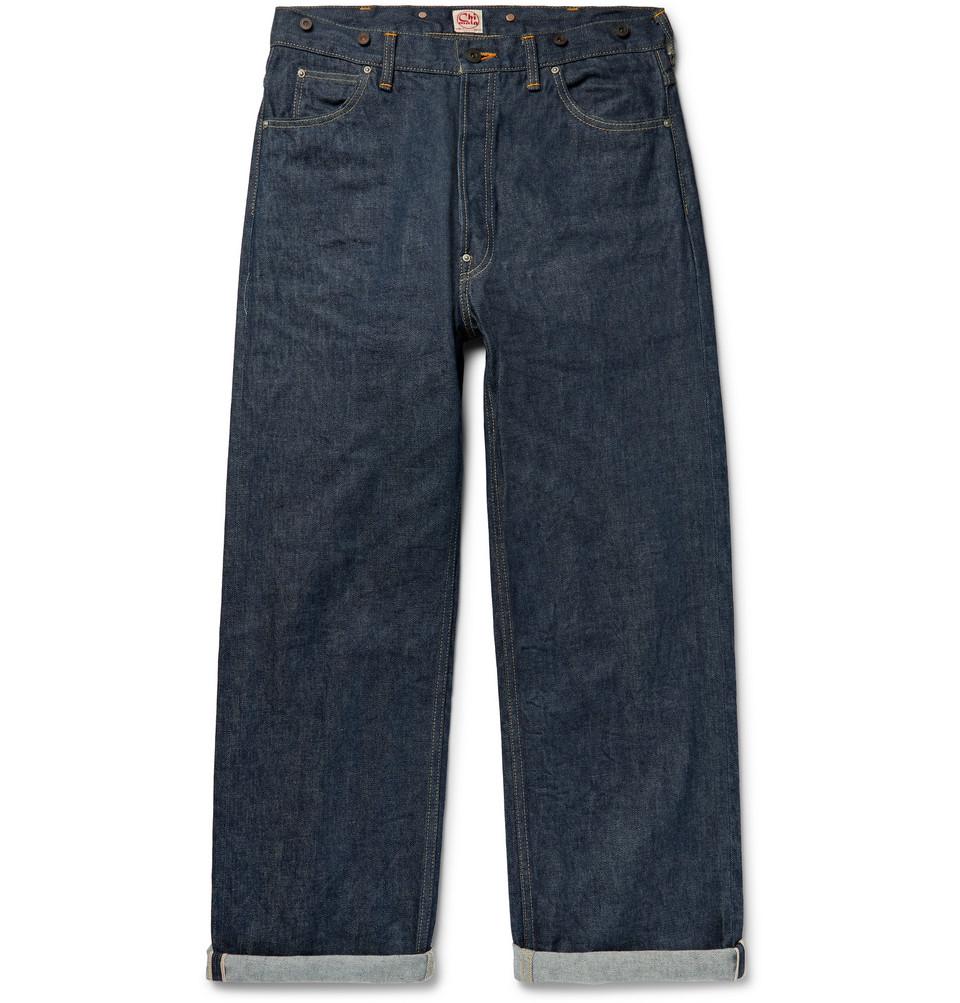 Selvedge Denim Jeans - Dark denim