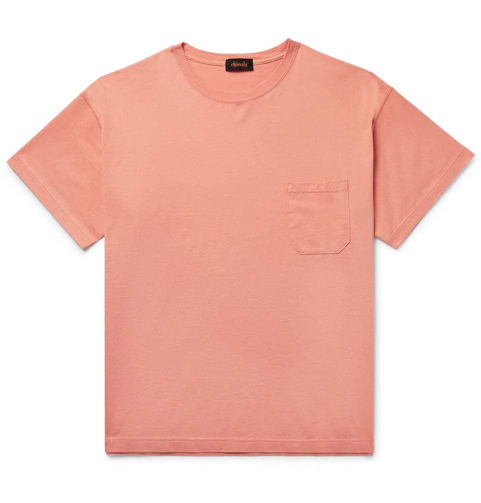 Cotton-jersey T-shirt - Pink