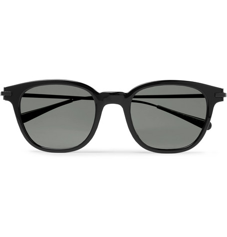 + Oliver Peoples Miami Square-frame Acetate And Metal Sunglasses