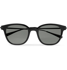 Berluti + Oliver Peoples Miami Square-Frame Acetate and Metal Sunglasses