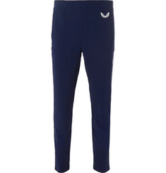 CASTORE - Swinton Mesh-Trimmed Bonded Stretch-Jersey Sweatpants