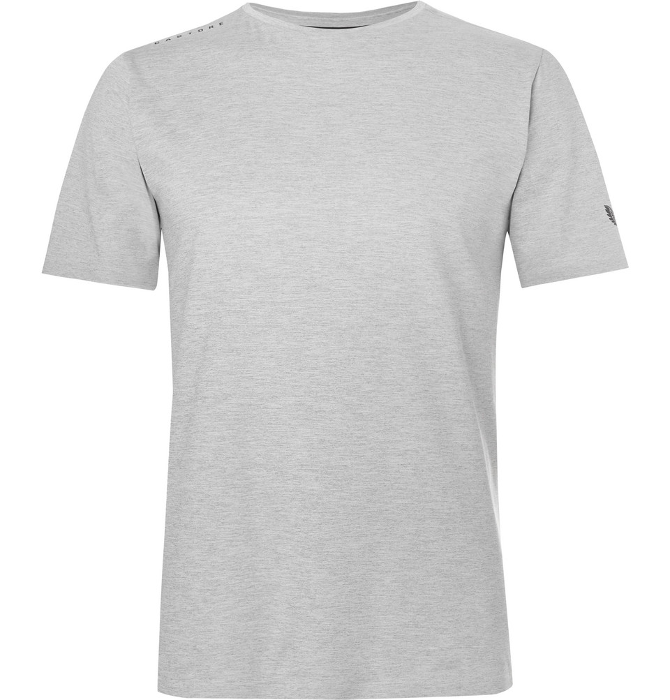 Philips Stretch-jersey T-shirt - Gray