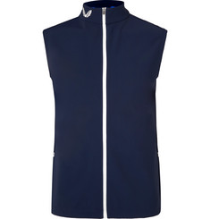 CASTORE Holmes Slim-Fit Stretch-Shell Golf Gilet