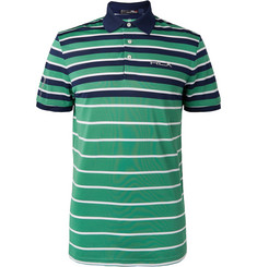 RLX Ralph Lauren - Striped Tech-Piqué Golf Polo Shirt