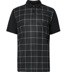 Nike Golf Essential Checked Dri-FIT Mesh Polo Shirt