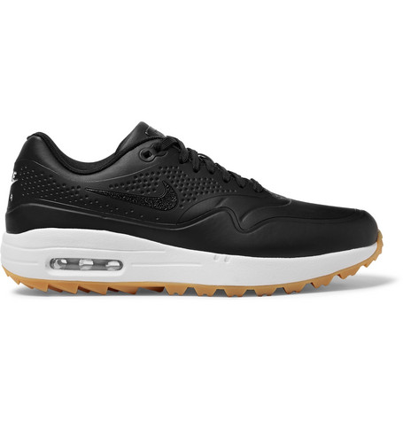 online store 48a77 65620 Nike GolfAir Max 1G Faux Leather and Rubber Golf Shoes