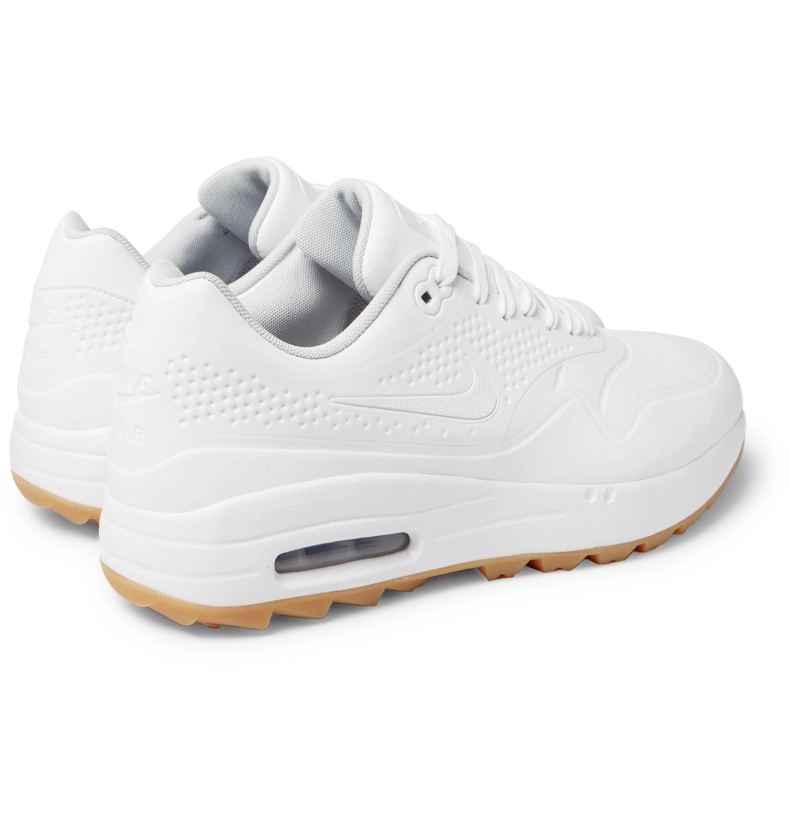 buy popular 92f55 e570a Nike GolfAir Max 1G Coated Mesh Golf Shoes