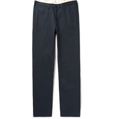 Freemans Sporting Club - Storm-Blue Cotton-Twill Chinos
