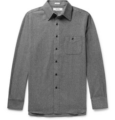 Freemans Sporting Club Herringbone Cotton-Flannel Shirt