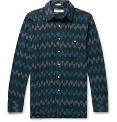 Freemans Sporting Club Printed Cotton Shirt