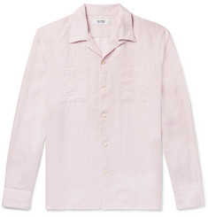 Freemans Sporting Club Camp-Collar Linen Shirt