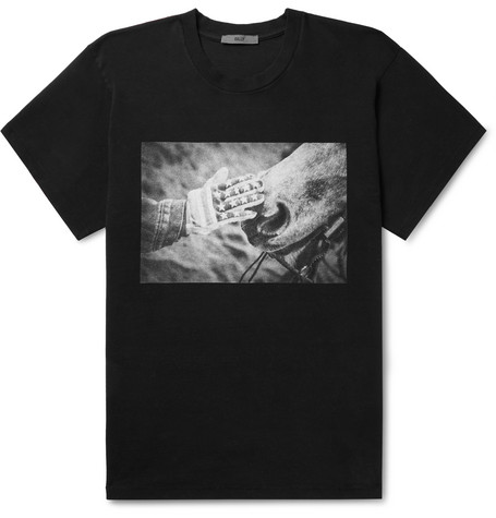 Printed Cotton Jersey T Shirt by Billy
