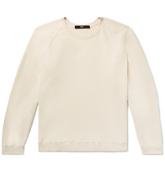 BILLY August Loopback Cotton-Jersey Sweatshirt