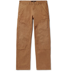 BILLY Wide-Leg Cotton-Canvas Cargo Trousers