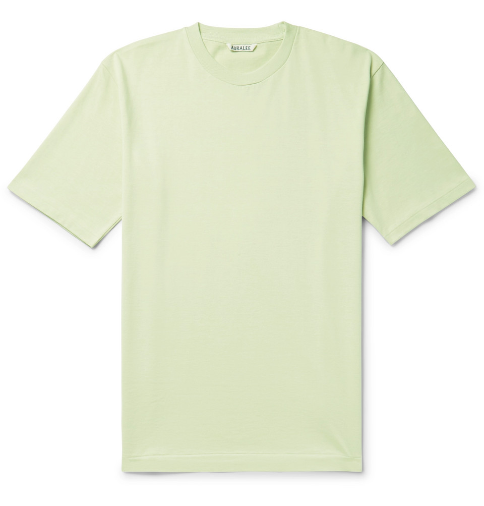 Cotton-jersey T-shirt - Light green