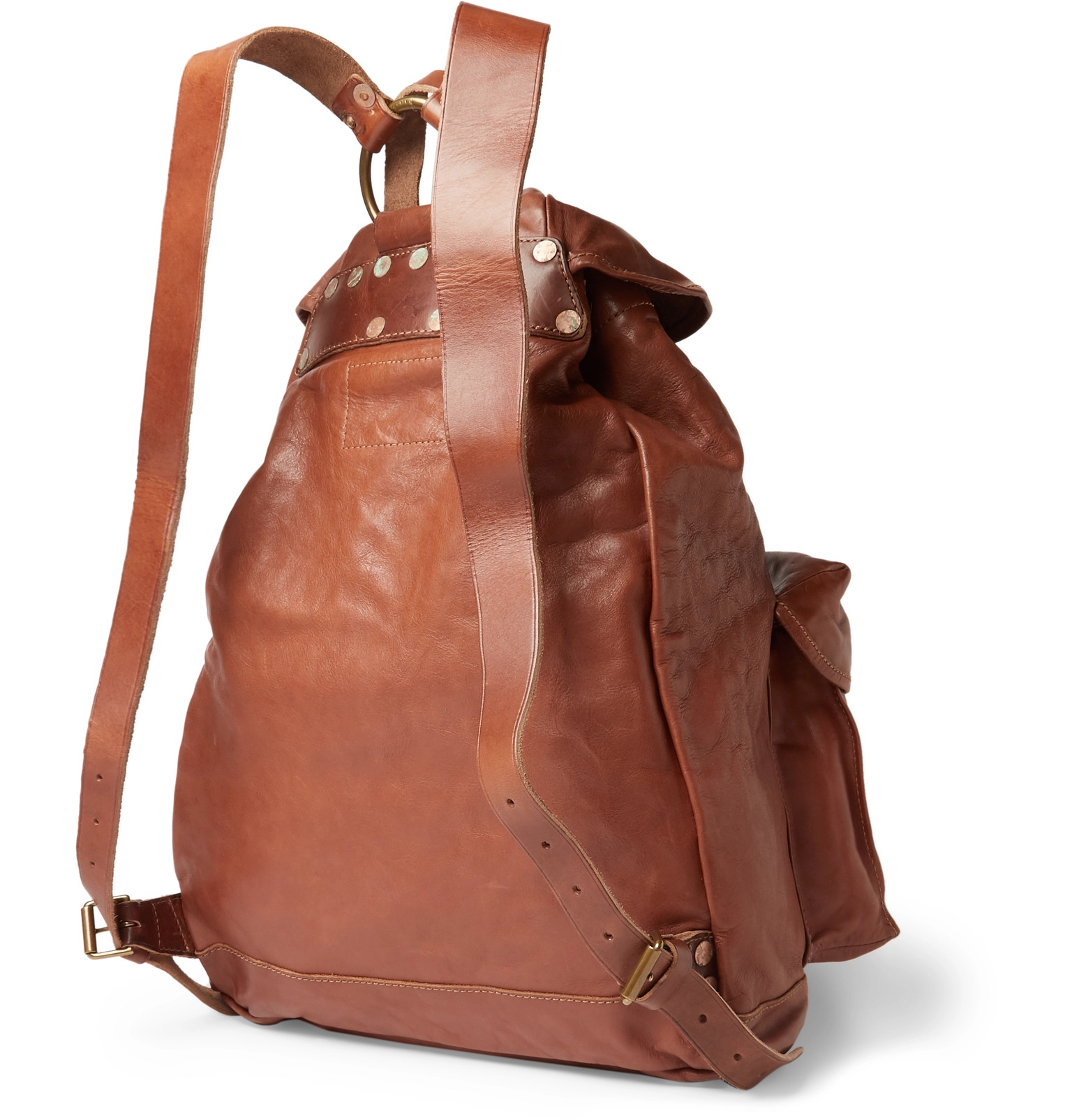 8c6759a504 RRL - Riley Leather Backpack