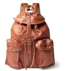 RRL - Riley Leather Backpack