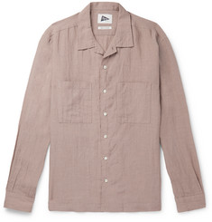 Pilgrim Surf + Supply - Camp-Collar Slub Linen Shirt