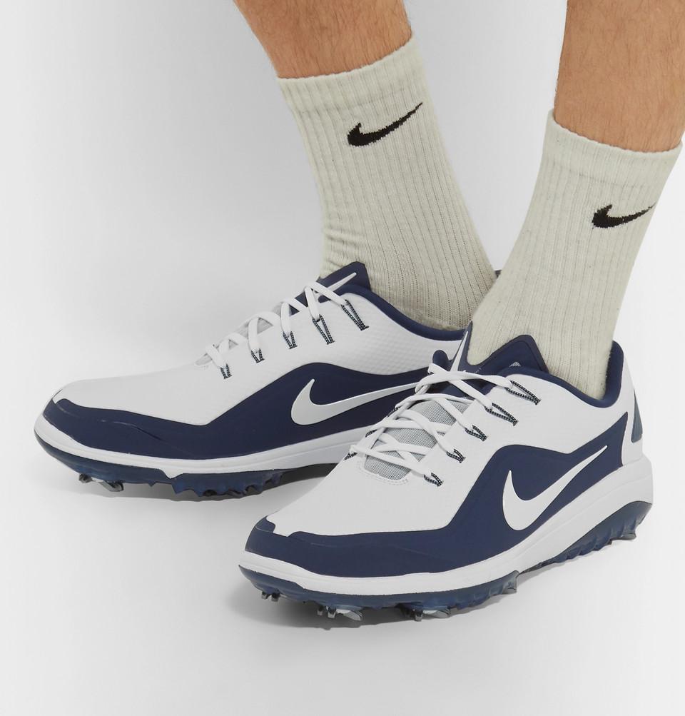 competitive price 59e32 f3d3b Nike Golf React Vapor 2 Coated-Mesh Golf Shoes