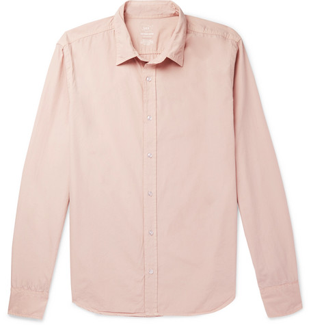 Easy Cotton Poplin Shirt by Save Khaki United