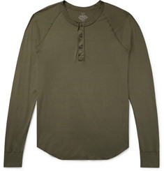 Save Khaki United Supima Cotton-Jersey Henley T-Shirt