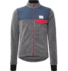 Cafe du Cycliste - Alphonsine Slim-Fit Fleece Cycling Jacket