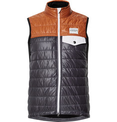 Cafe du Cycliste - Albertine Two-Tone Shell and Fleece Primaloft Cycling Gilet