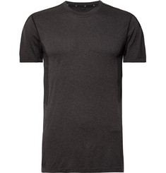 Reigning Champ Performance Mesh-Panelled Mélange Jersey T-Shirt