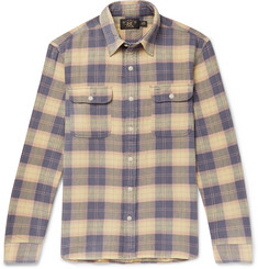 RRL - Checked Cotton-Flannel Shirt