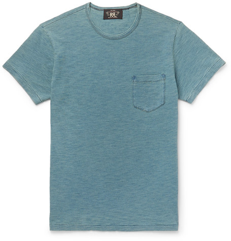 Slim Fit Cotton Jersey T Shirt by Rrl