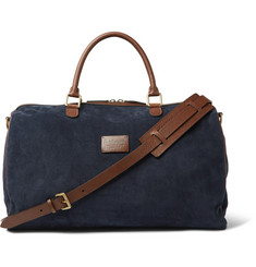 Anderson's Suede and Full-Grain Leather Holdall