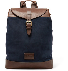 Anderson's Suede and Leather Backpack