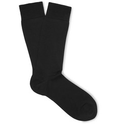 Marcoliani Pima Cotton-Blend Socks