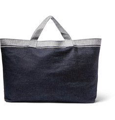 Cleverly Laundry - Two-Tone Denim Laundry Bag