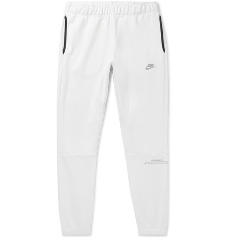 e7a36ee2ae73 Nike - Air Max Tapered Loopback Cotton-Blend Jersey Sweatpants