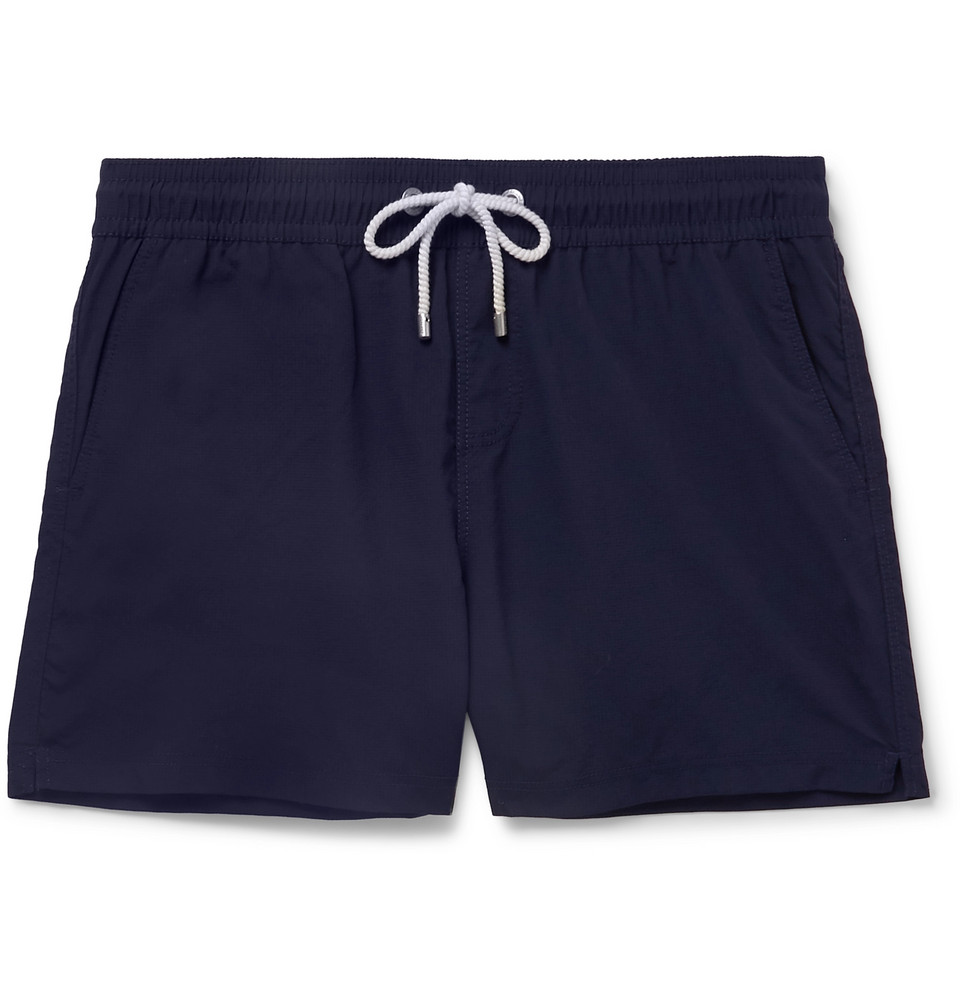 Fregate Short-length Swim Shorts - Navy