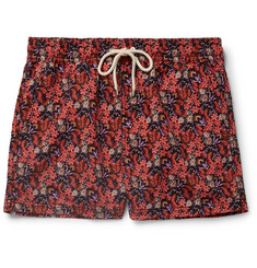 Atalaye Helianthe Short-Length Printed Swim Shorts