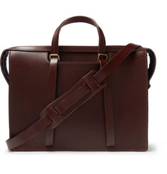 Bleu de Chauffe - Jupiter Leather Briefcase