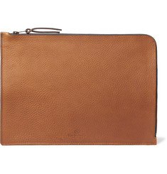 Bleu de Chauffe - Jim Organic Full-Grain Leather Pouch
