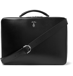 Mark Cross Baker Brief Full-Grain Leather Briefcase