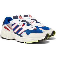 adidas Originals - Yung 96 Suede, Leather and Mesh Sneakers
