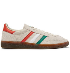 0bb5973d4c14 adidas Originals SPEZIAL Handball Leather-Trimmed Suede Sneakers
