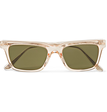 The Row + Oliver Peoples BA CC Square-Frame Acetate Sunglasses