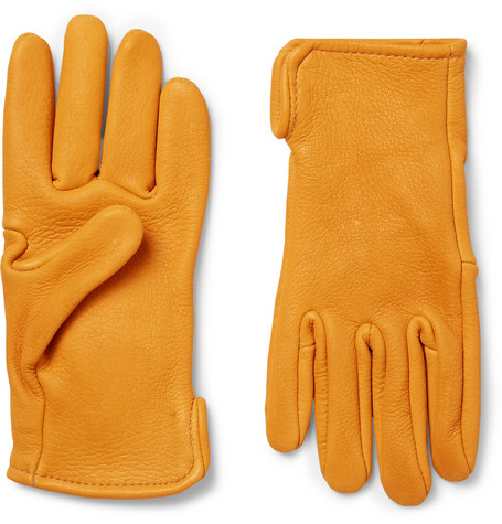 Best Made Company – Roper Leather Gloves – Mustard
