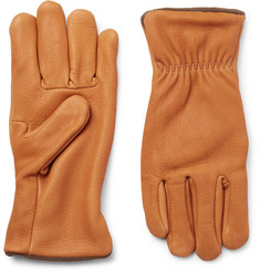 Best Made Company Fleece-Lined Nubuck Gloves