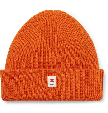 a35dce4f74f Best Made Company - Cap of Courage Ribbed Merino Wool Beanie