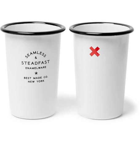 Best Made Company Seamless & Steadfast Enamel Tumbler Set