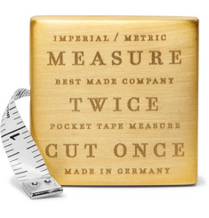 Best Made Company Engraved Brass Measuring Tape
