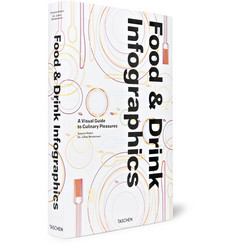 Taschen - Food and Drink Infographics: A Visual Guide to Culinary Pleasures Hardcover Book