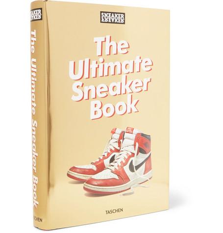 TASCHEN Sneaker Freaker: The Ultimate Sneaker Hardcover Book in Red